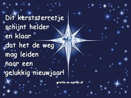 Kerstster met een mooi gedichtje: www.gratis-e-cards.nl/contents/nl/p184_Kerstster.html